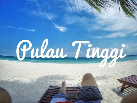 【丁宜岛】Pulau Tinggi travel 2017 - TAd Marine Resort