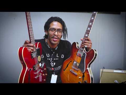 Gibson Memphis ES-335 vs Epiphone Dot Tone Comparison