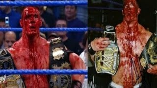 5 most bloodiest and epic WWE matches that no one can forget - Top 5 wwe bloodiest matches