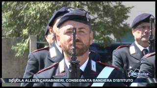 Scuola allievi carabinieri, consegnata bandiera d'istituto