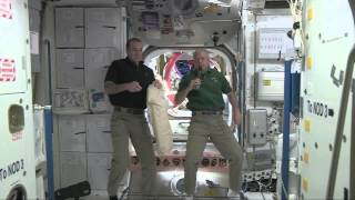 Space Station Crew Discusses Life in Space with Students at Sandy Hook Elementary School