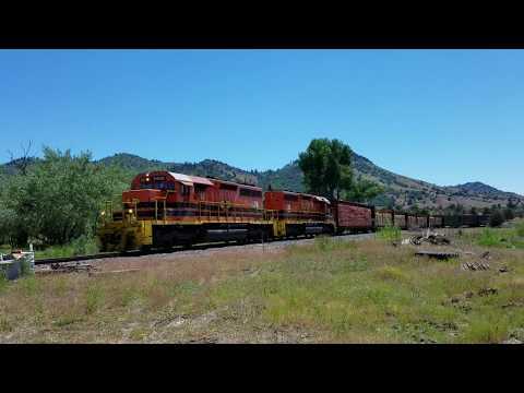 Central Oregon & Pacific Railroad at Hilt, CА