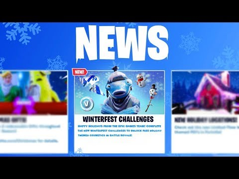 The WINTERFEST ITEMS In Fortnite (Christmas Update)