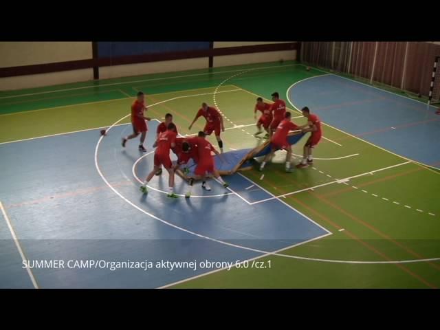 Damian Wleklak - organizacja aktywnej obrony 6:0