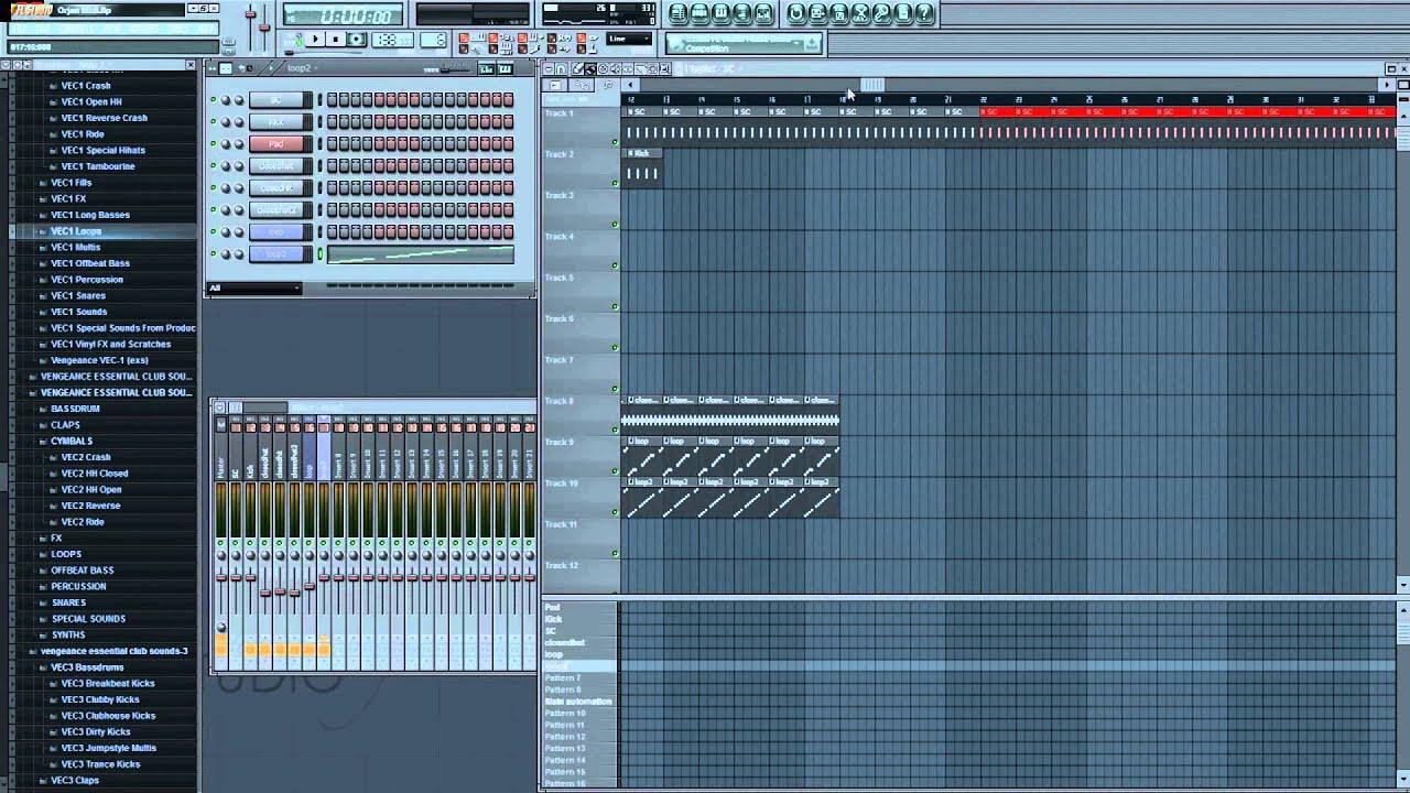 fl studio how to make buildup effect