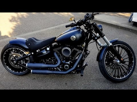 harley davidson fxsb custom breakout youtube. Black Bedroom Furniture Sets. Home Design Ideas