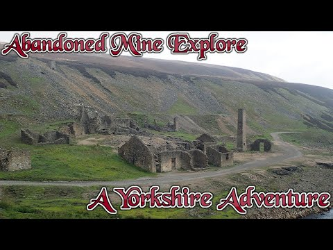 Abandoned Mine Explore #15 : Yorkshire, Old Gang : 4 X Mines, Including Brandy Bottle