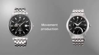 Как делают часы Orient