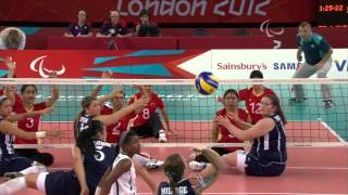 Sitting Volleyball - USA vs CHN - Women