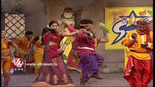Rama Rama Yellammaku Song | Telangana Folk Songs | Dhoom Thadaka | V6 News