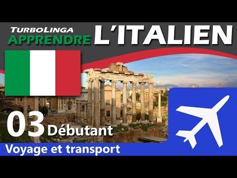 Apprendre l'italien pour débutants - Voyages et transport 03