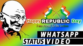 Happy Republic day 2020 Whatsapp Status Video Download