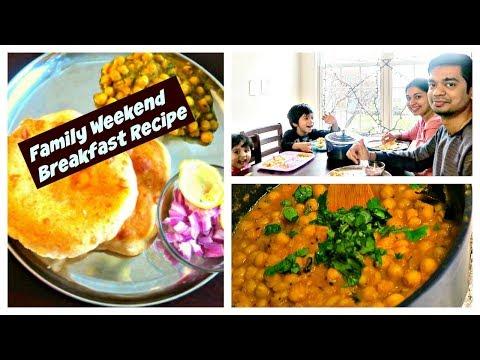 Weekend family breakfast menu | Indian Sunday breakfast | Candid Homemaking