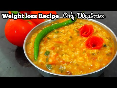 #Shorts 130calories Tomato Oats Spicy Delicious Oats With Tangy Tomato low Calorie Weight Loss Oats 