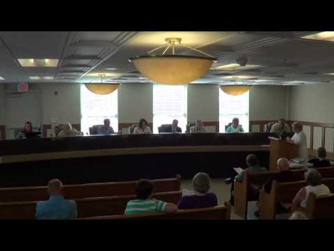 Fiscal Court Meeting 7 16 13 Part 1