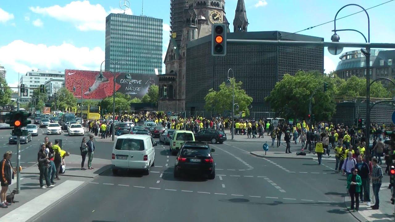 BVB - Wolfsburg Pokalfinale 2015 Gedächtniskirche