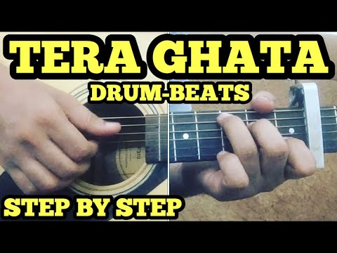 Tera Ghata Guitar Chords Lesson With Intro Heartbeat Style
