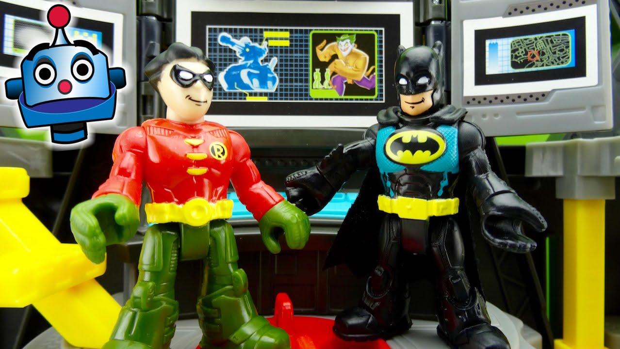 Batman Batcueva Batcave Juguetes De Batman Youtube
