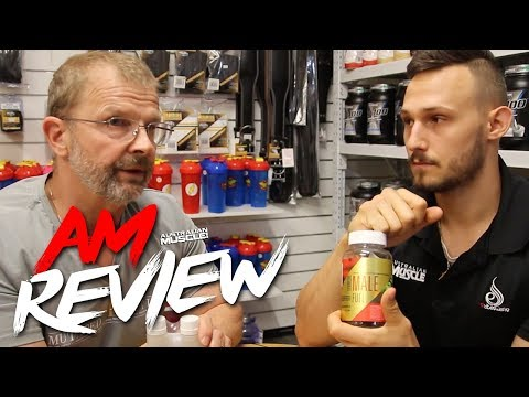 Gen-Tec Ultimate Male Fuel Testosterone Booster - AM Review!
