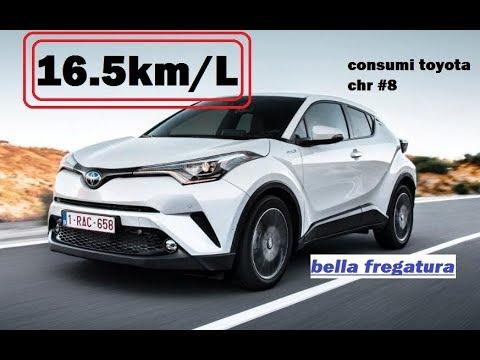 consumi veri 16,5km/l toyota c-hr puntata #8 - consuma troppoooo