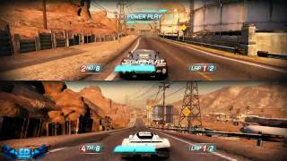 Split Second Velocity PC Gameplay Split Screen Fun Part 2 High Settings 720p HD