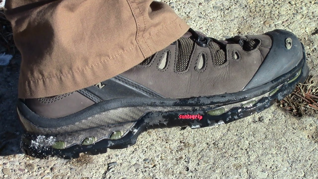 salomon quest d gtx boots initial impressions by thegeartester