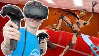 VIRTUAL REALITY STEALTH GAME! | Budget Cuts VR (HTC Vive + Subpac Gameplay) thumbnail