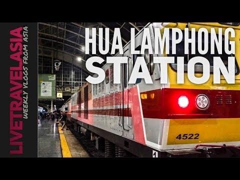 Bangkok Hua Lamphong Station by BTS & MRT