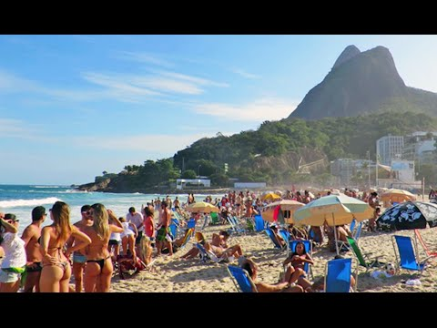 Why Tourists Stand Out On Rio Beaches