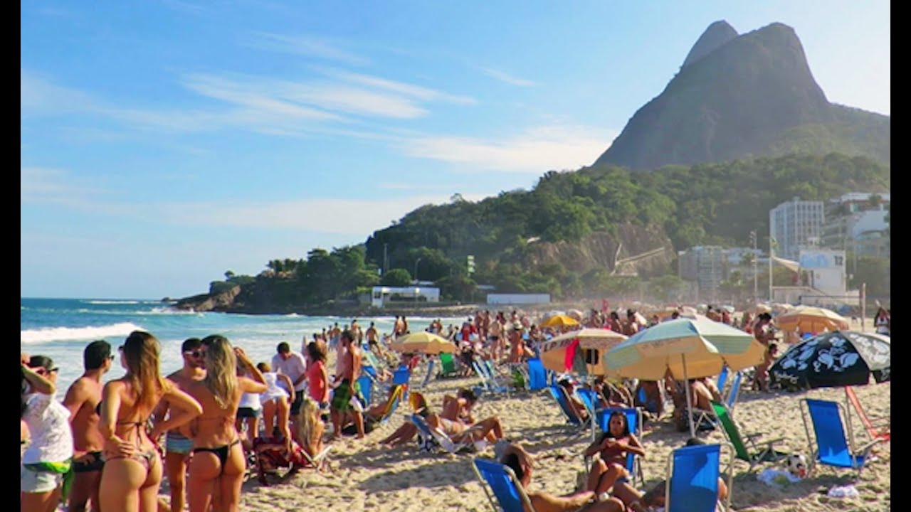 Why Tourists Stand Out On Rio Beaches YouTube