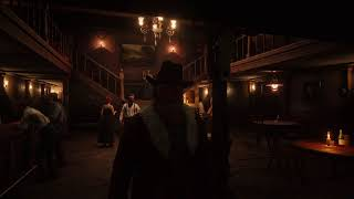 Red Dead Redemption 2 - Valentine Saloon Ambiance (music, talking, glasses)