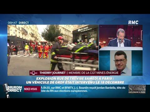 INFORMATION RMC - Explosion à Paris: GRDF avait procédé à un contrôle de routine fin décembre