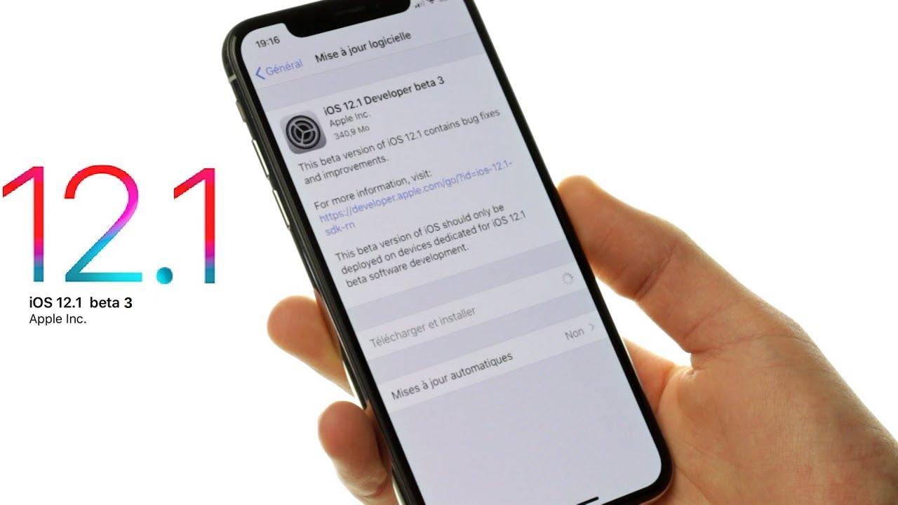 IOS 12.0.1 MISE GRATUIT A JOUR TÉLÉCHARGER