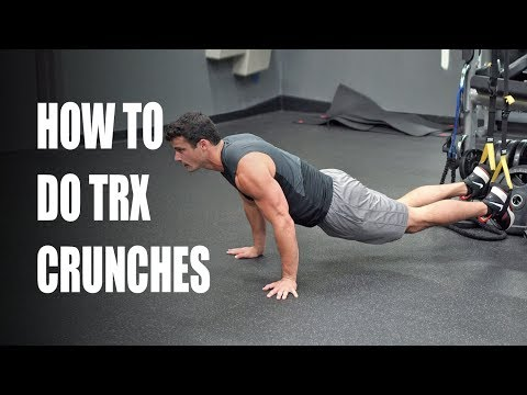 How to Do TRX Ab Crunches [great ab & oblique exercise]