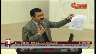 EREN ERDEM'DEN AKP'YE KUDÜS BELGESİ!