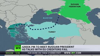 Russia, Greece sign €2bn deal on Turkish Stream gas pipeline