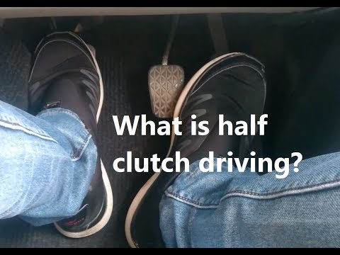 What Is Half Clutch Car Driving | Is Half Clutch Good Or Bad? | Car Driving TIPS For Beginners