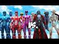 POWER RANGERS vs KING VAMPIRE - Vampires VS Power Rangers 2017