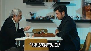 Amar es Primavera Capitulo.36   Ayaz juega backgammon con el abuelo