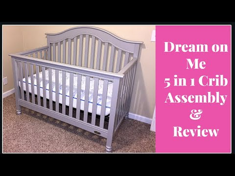Dream On Me Crib Assembly Review Youtube