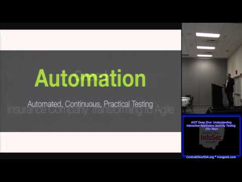 COIS DC04 IAST Deep Dive Understanding Interactive Application Security Testing Ofer Maor