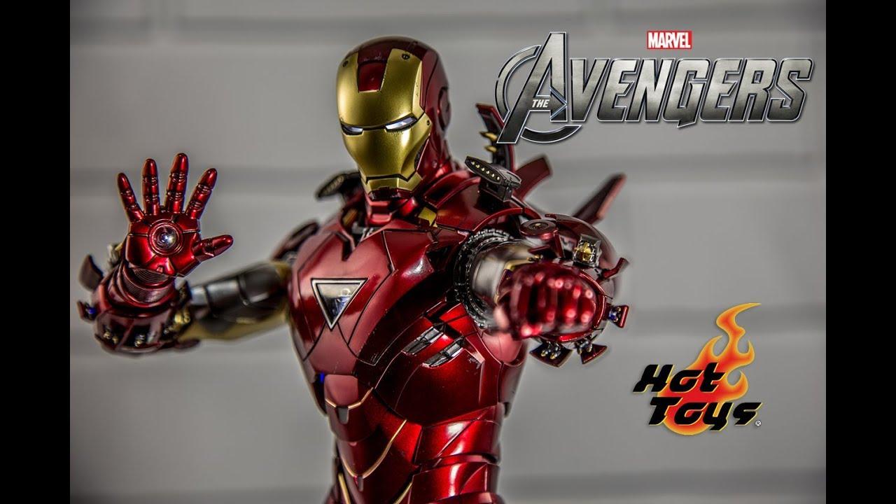 Play Toys Marvel Avengers Iron Man Mark VI MK6 1//6th Diecast Figure Toy