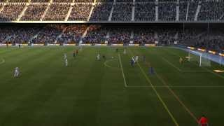 FIFA 12 - Gameplay [ITA] Barcellona - Real Madrid - 1° TEMPO