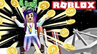 2 BILLIONAIRES GO TO THE MOON! | Roblox Billionaire Simulator