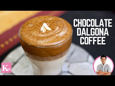 Chocolate Dalgona Coffee | Whipped Coffee Recipe | Chef Kunal Kapur