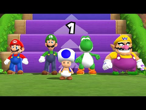 Mario Party 9 - Step It Up Challenge (7 Rounds - 2 Player)