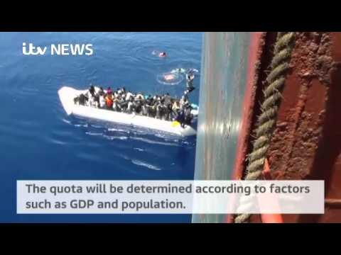 EU countries will be asked to accept a quota of migrants