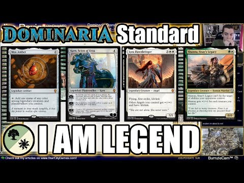 I Am Legend - Trying to Break Mox Amber in Dominaria Standard