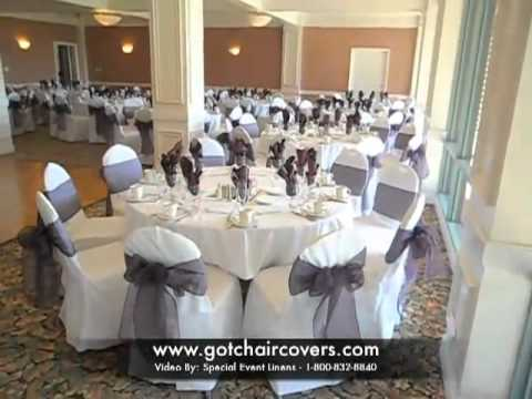 linens chair covers bows linen rental in orange county