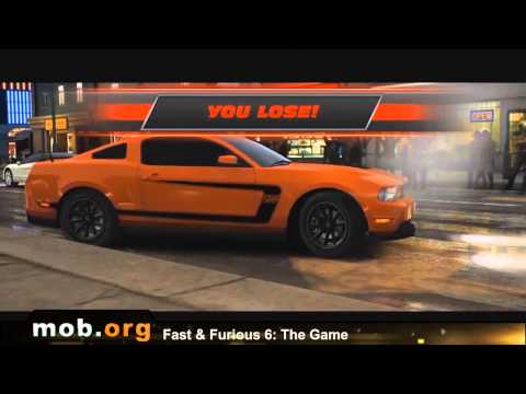 Fast & Furious 6 The Game Android Review - Mob.org